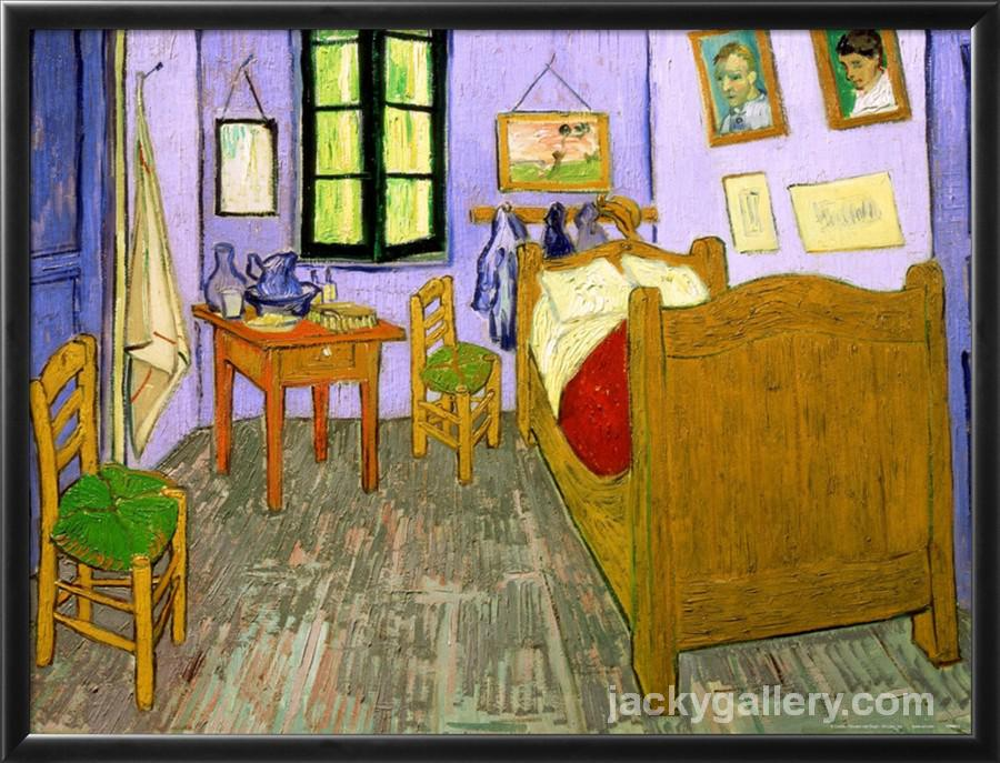 The Bedroom at Arles, Vincent Van Gogh high quality hand-painted ...