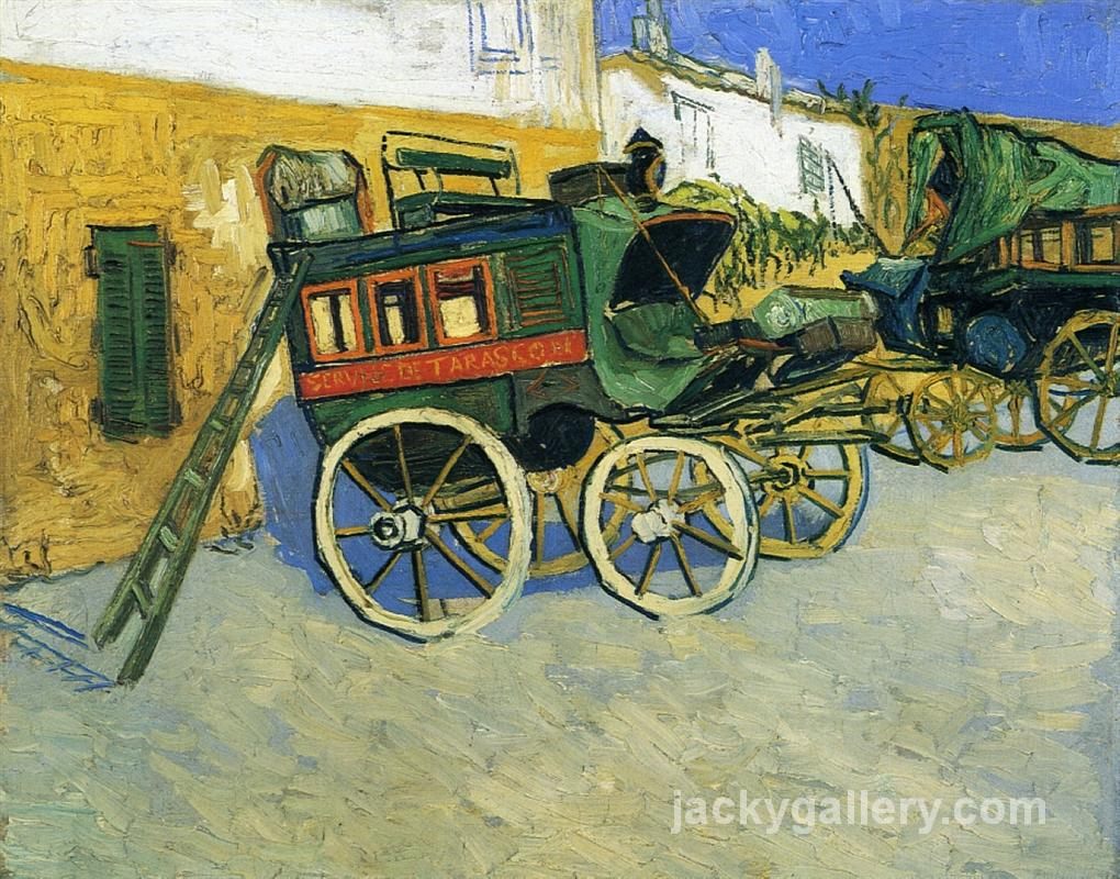 The Tarascon Diligence, Van Gogh painting