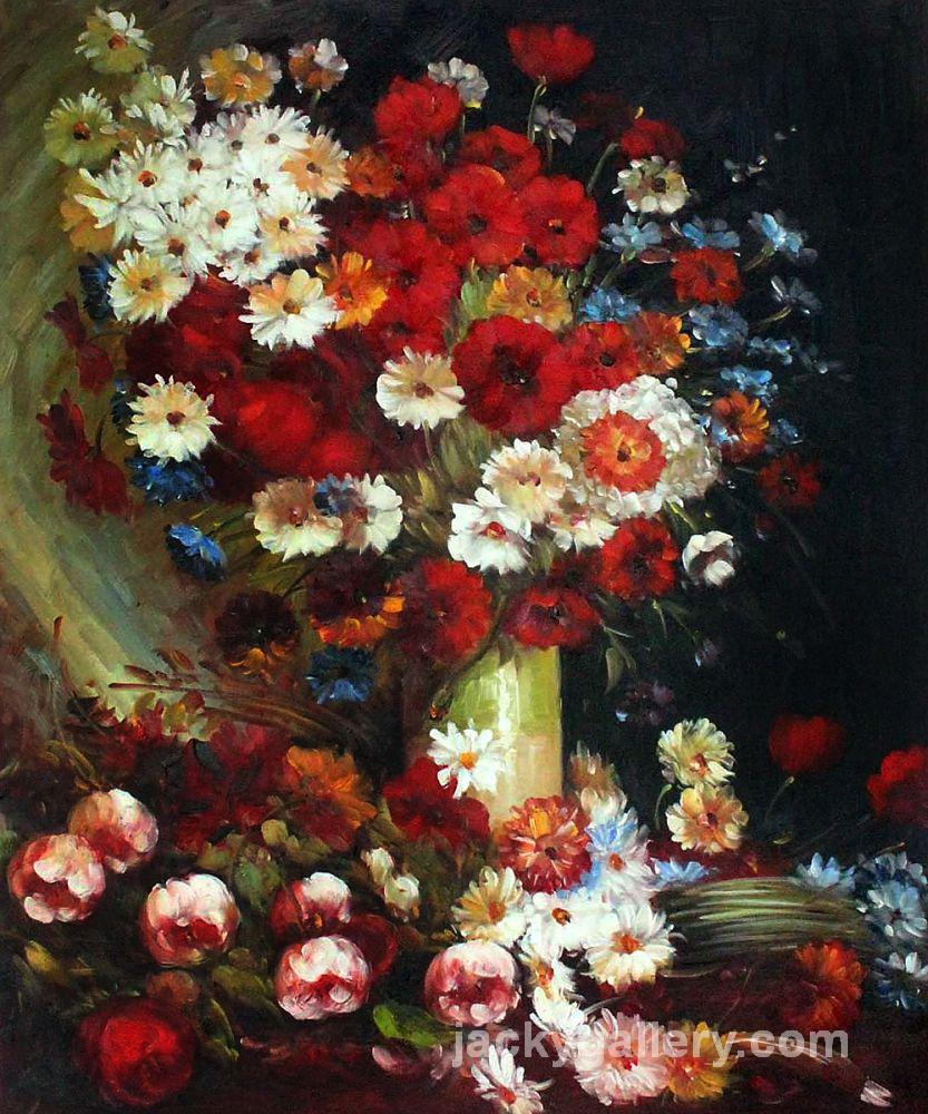 Vase with poppies cornflowers peonies and chrysanthemums vincent vase with poppies cornflowers peonies and chrysanthemums van gogh painting reviewsmspy
