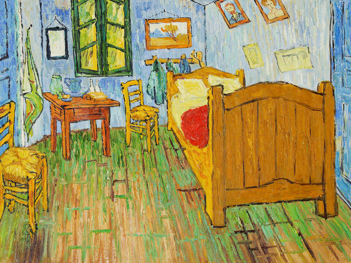 Vincent S Bedroom At Arles By Vincent Van Gogh For Sale Jacky Gallery Oil Paintings Reproductions And Supplier,Kitchen Garden Window Shelf