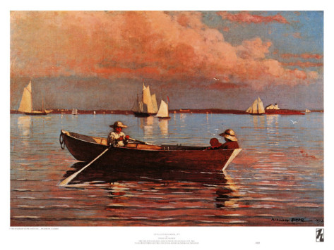 Gloucester Harbor By Winslow Homer