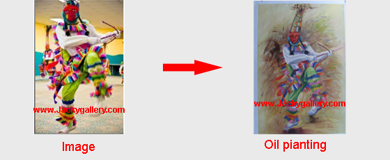 convert photos to oil paintings
